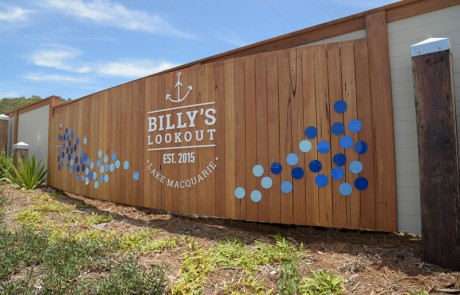 Build For A Cure 2016 | Billy's Lookout Entrance