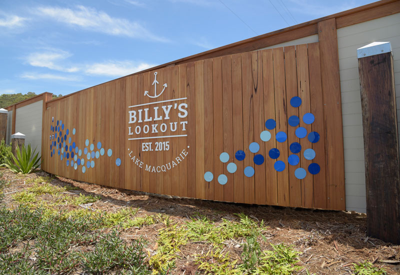 Build For A Cure 2016   Billy's Lookout Entrance